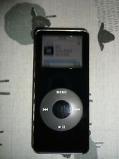 APPLE IPOD NANO - 2GB BLACK MODEL A1137 VGC WORKING WITH SONGS ON IT