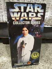 "1996 Kenner Star Wars 12"" Collector Series Figure Princess Leia 27691 NIB"