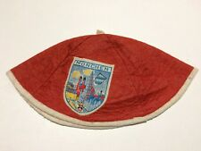 MUNCHEN BAVARIA GERMANY Child's Vintage Felt Beanie Cap Hat