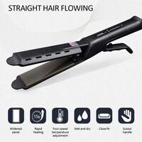 Ceramic Tourmaline Ionic Flat Iron Hair Straightener Professional Glider BestNew