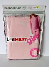 GIRLS 32 DEGREES HEAT LONG SLEEVE CREW TOP AND LEGGINGS SMALL 6 6X SOFT PINK