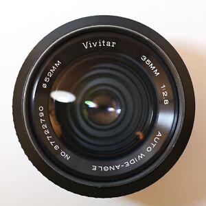 Vivitar 35mm F2.8 Wide Angle Pentax M42 mount Lens - MINT CONDITION