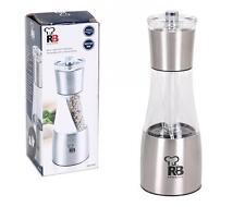 Salt and Peper Dispenser 7x19cm Stainles steel RB