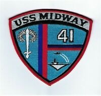 USS Midway CV-41 CVA-41 Midway Magic Navy Aircraft Carrier Patch