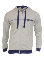 Hugo Boss Men's Authentic Zip Front Hooded Cotton Jacket