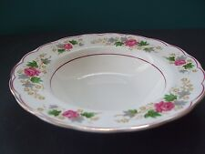 "VINTAGE GRINDLEY ENGLAND SWANSEA ROSE 8"" SOUP BOWL more available"