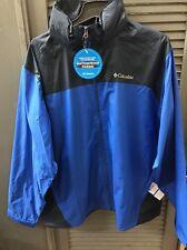 Columbia Glennaker Lake Rain Jacket Mens Blue XL
