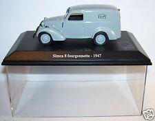 NOREV SIMCA 8 FOURGONNETTE 1947 POSTES POSTE PTT 1/43 occasion