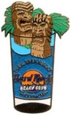 Hard Rock CHOCTAW (Closed) 2003 SHOT GLASS Series PIN - HRC Catalog #18707
