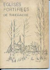 EGLISES FORTIFIEES DE THIERACHE - Tapuscrit Pol Verschaeren Wimy 1975 - Aisne b
