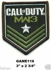 CALL OF DUTY MODERN WARFARE 3  - CLOTH PATCH - GAME116