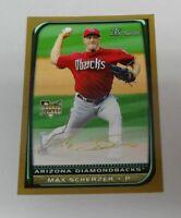 Max Scherzer 2008 Bowman Draft GOLD SP Rookie Baseball Card World Series $HOT$$