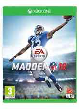 Madden NFL 16 Xbox One XB1 Brand New & Sealed Free Express Post