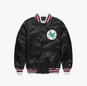 Ohio State Buckeyes Blackout Jacket Script Ohio Homage Brand Size L - Never Worn