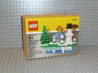 LEGO® 853663 Iconic Weihnachten Magnet Schneemann Holiday Christmas Set Snowman