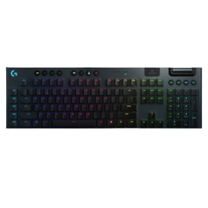 Logitech G915 Illuminated Gaming Keyboard Black GL Clicky/GL Linear