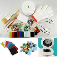 UK Fusing Supplies Glass Kit Microwave Tool DIY STOCK Kiln Stained 10Pcs Papers
