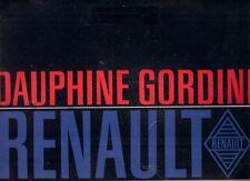 Renault Dauphine Gordini 1966-67 UK Market Sales Brochure