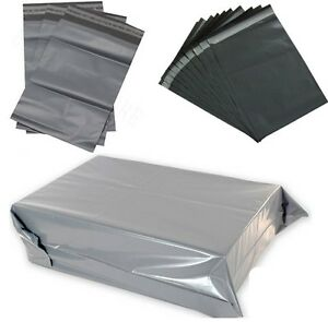 Grey Mailing Bags – Strong British Quality Polybags Postal Bags Packaging