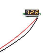 High Quality DC 2.4-30V 2 Wire LED Display 3 Digital Voltage Voltmeter Panel