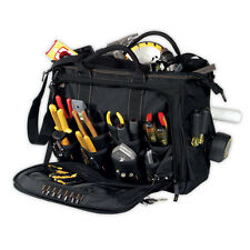"CLC 1539 - 58 Pocket Large 18"" Multi-Compartment Tool Bag Carrier Shoulder Strap"