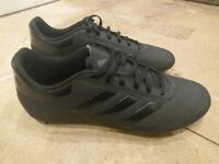 Adidas Mens Goletto Firm Ground Football Boots Shoes Black UK Size 8