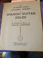 Partition Guitare Rondo Spanish Guitar Solo M Carcassi Music Sheet Clifford