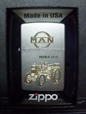 Zippo Sturmfeuerzeug MAN Trecker B 18 A High End Gravu