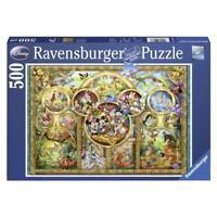 RAVENSBURGER Puzzle la famille DISNEY 500 pièces sous blister neuf