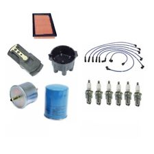 For Maxima 280ZX 810 Spark Plugs-Wire Set-Cap-Rotor-Air, Oil Filters Tune-up kit