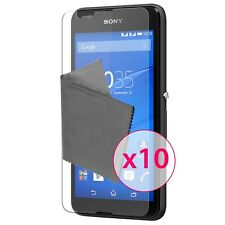 Films de protection Ultra Clear HD Pour Sony Xperia E4 X10