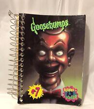 "Goosebumps ""The Dummy ""Mini Notebook Theme Book"