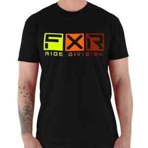 Brand New FXR Men's Helium T-Shirt ~Black/Inferno ~ M ~ #211312-1026-10