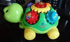 Baby Toy Vtech Pull and Play Turtle. Lights & Sounds, Interactive