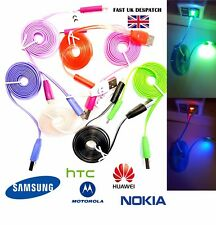 LED Micro USB Cable for Samsung Galaxy S3,S4,S5,S6,S7 Charger Light Data Sync