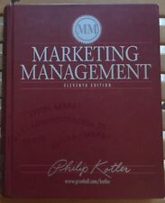 Marketing Management by Philip Kotler (2002, Hardcover)