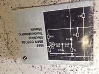 1984 BMW 633CSi Electrical Troubleshooting Wiring Service Repair Manual OEM