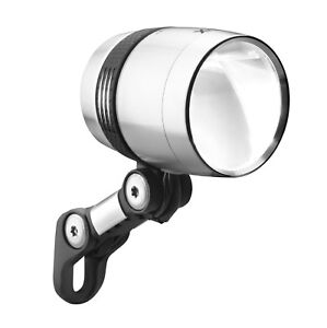Bicycle Dynamo Front Light Busch+Müller IQ-X 100 Lux Black or Silver Bike Cycle