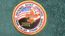 National Scout  Jamboree Patch BSA Boy Scout Strong Values, Strong Leaders TU5