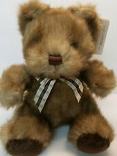 "9"" Picadilly Bear Caress Soft Pets by Russ Vintage Plush Stuffed Animal With Tag"