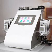 6in1 Ultrasonic Cavitation Radio Frequency Vacuum Full Body Slim Beauty Machine