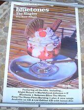 THE BLUETONES The Singles 2002 promo poster 30 x 20  original