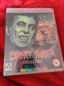 THE COUNT YORGA COLLECTION BLU RAY ARROW VIDEO BRAND NEW SEALED SPECIAL EDITION