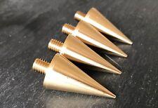 BIG Speaker Spike -M8 -for HIFI Racks And Sub Woofers BRASS -British Made-