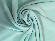 Chiffon Fabric Pastel Sea Green 1 yard material