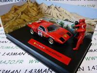 MV5H voiture altaya IXO 1/43 diorama MICHEL VAILLANT : LEADER MARATHON n°5