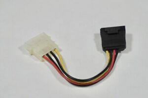 Sata To Molex Power Adapter Computer Power Supply Connection Connector
