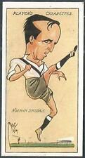 """PLAYERS 1927 FOOTBALL CARICATURES BY """"MAC""""- #11-NOTTS COUNTY-NORMAN DINSDALE"""