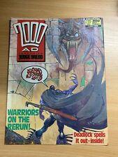 2000AD PROG 581 (2 JULY 1988) UK LARGE COMIC - JUDGE DREDD