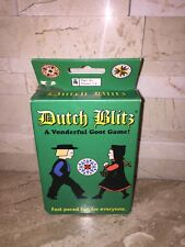 DUTCH BLITZ CARD GAME EUC